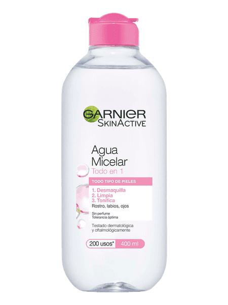 Agua Micelar Garnier Todo en 1: mi experiencia