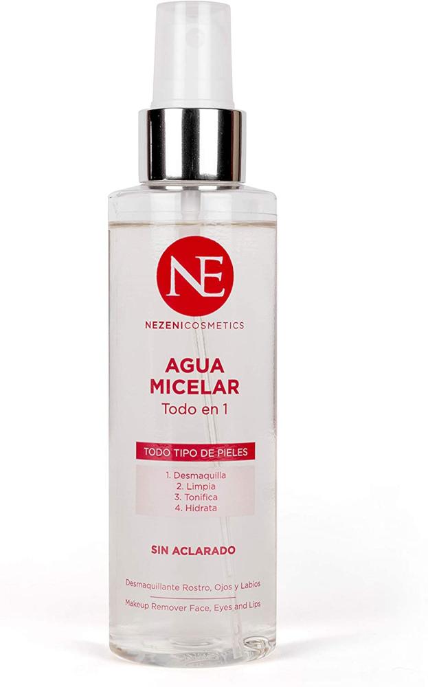 Agua Micelar Nezeni Cosmetics – Todo en 1