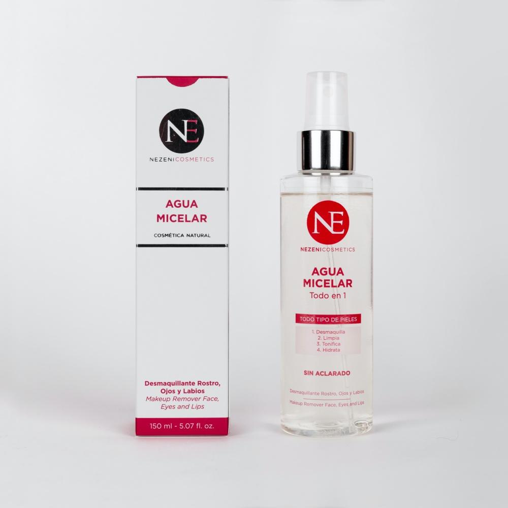 Nezeni Cosmetics Agua Micelar Todo en 1 (baja en conservantes)