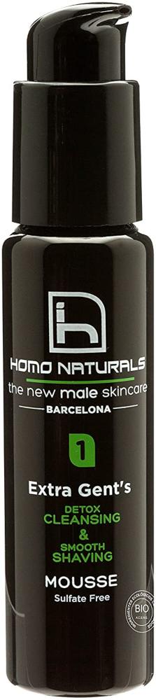 Homo Naturals Extra Gent'S Limpieza y Afeitado 2 en 1