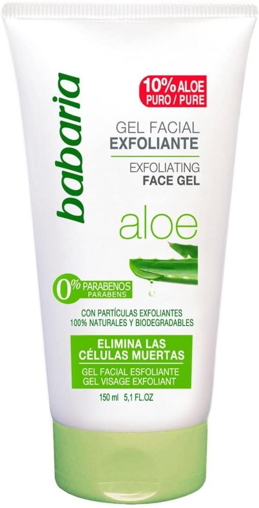 Babaria Aloe Vera Gel Facial Exfoliante
