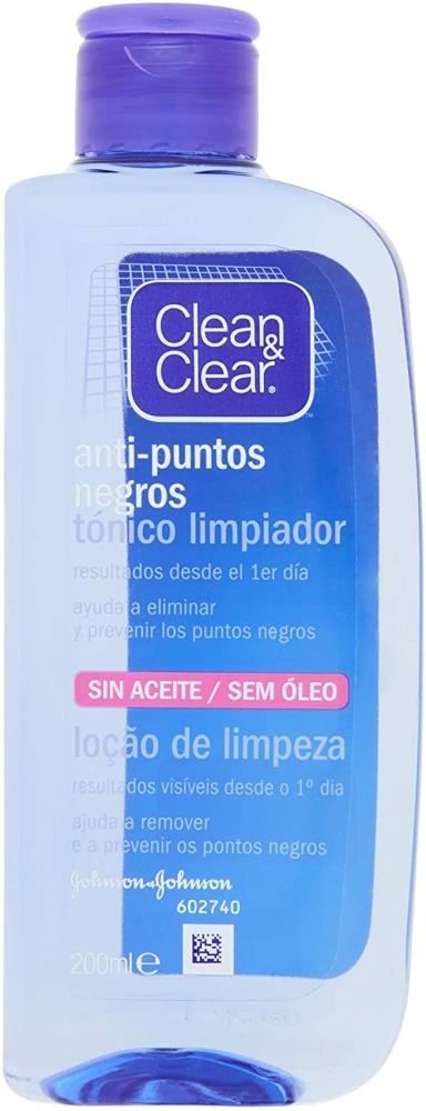 CLEAN & CLEAR Tónico Limpiador Anti Puntos Negros