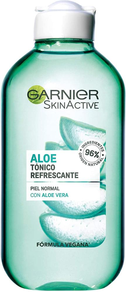 Garnier Tónico Limpiador Botánico con Savia de Aloe