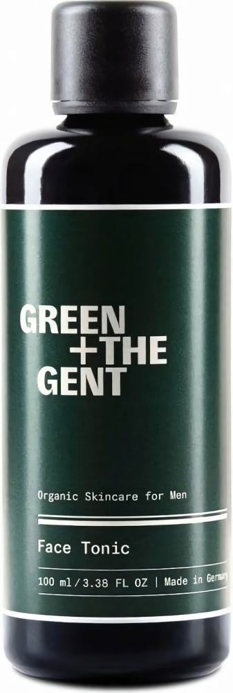 Green + The Gent Face Tonic