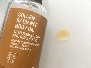 aceite golden radiance freshly