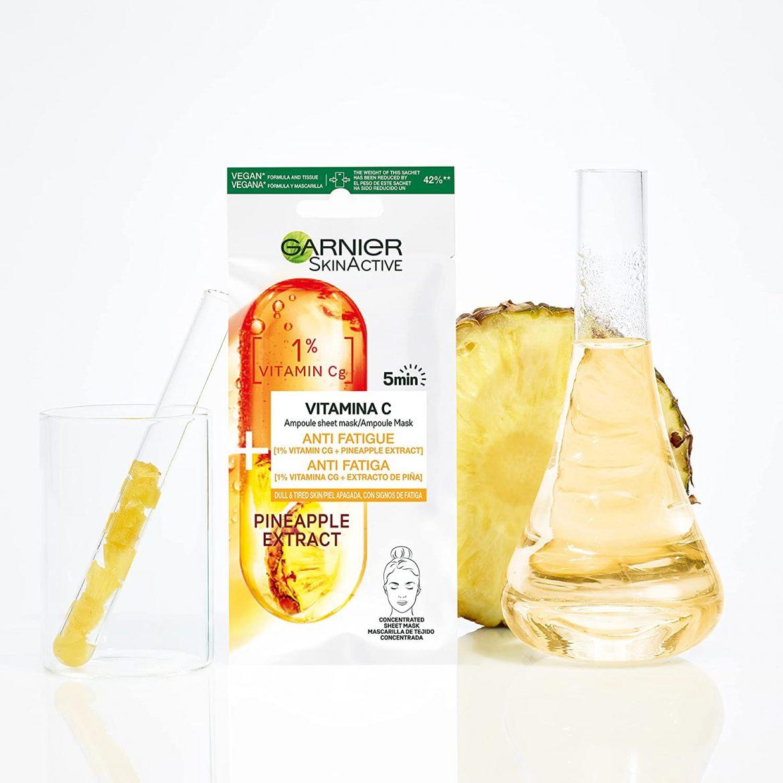Mascarilla Vitamina C Antifatiga de Garnier: mi opinión